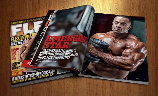 Sasan Heirati - Flex Magazine
