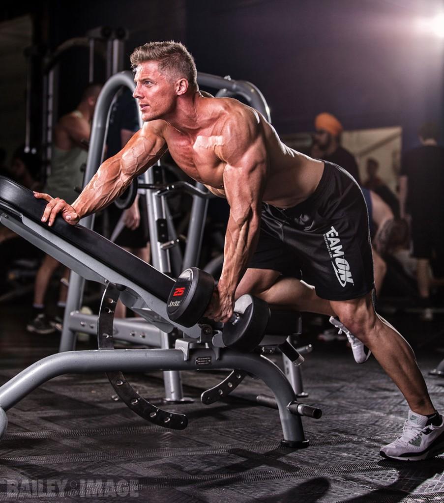 Fitness Model Steve Cook