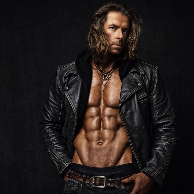 Bodybuilder and Photographer Christopher Bailey