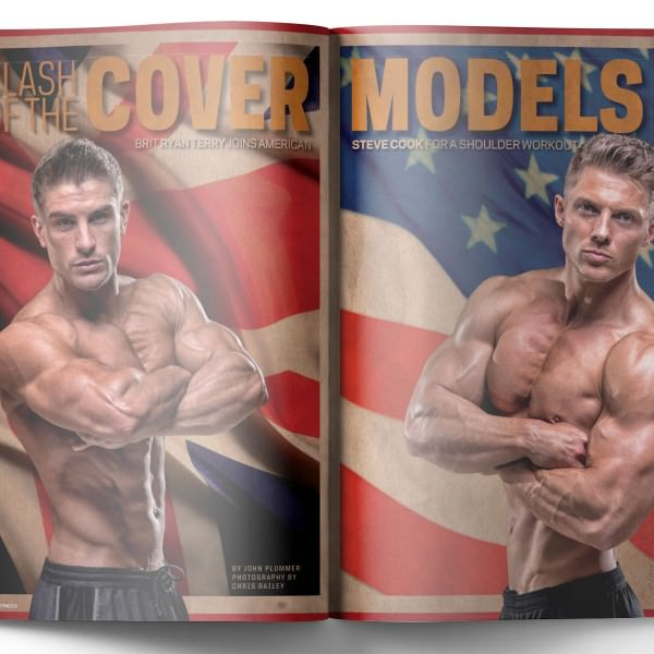 Steve Cook Muscle and Fitness Magazine