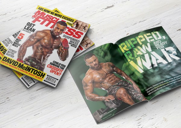 David McIntosh by Boxing Photographer Christopher Bailey