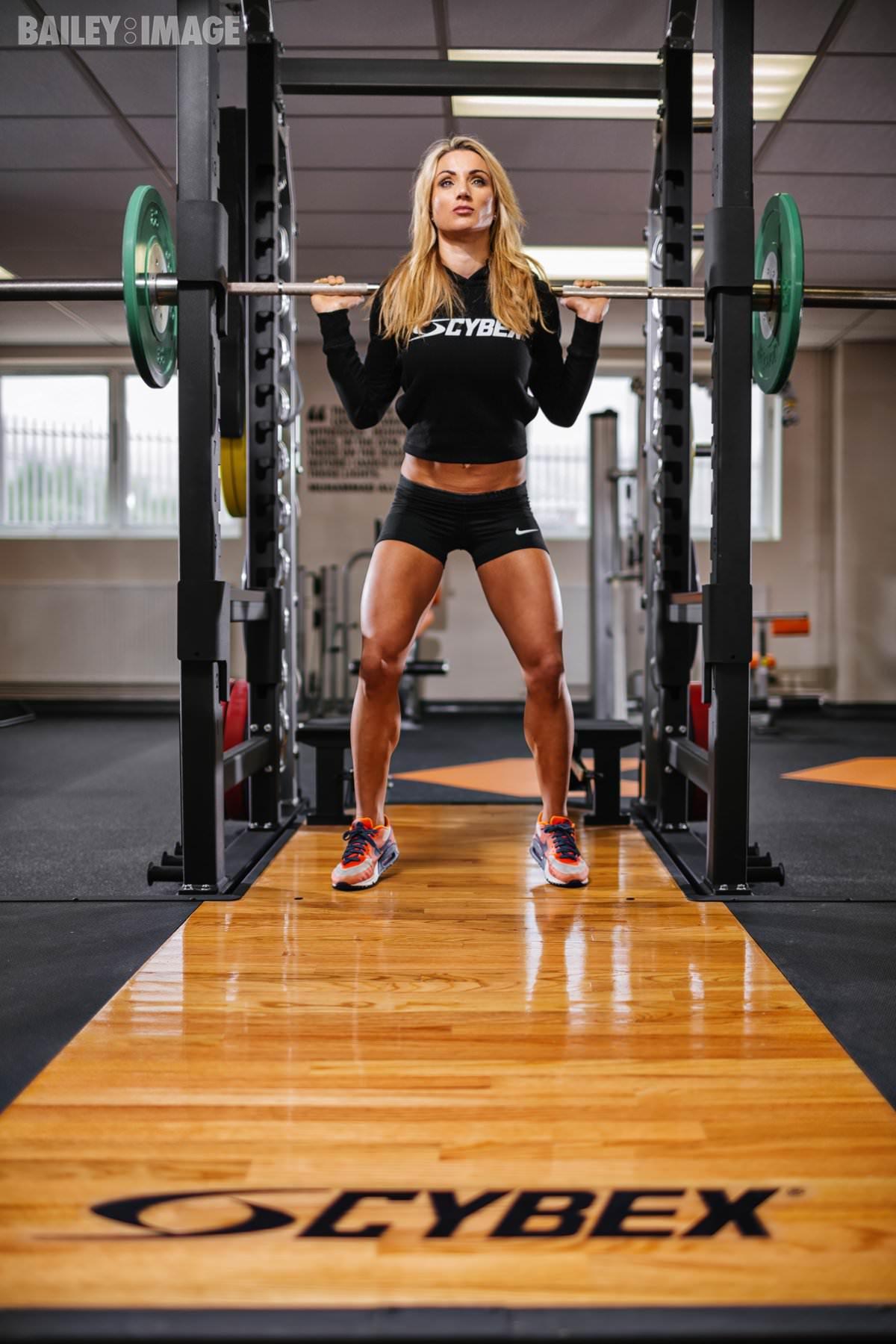 Nina Ross Fitness Photographer Christopher Bailey